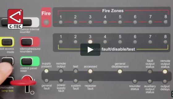 fire alarm disable zone